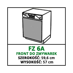 FRONT ZMYWARKI - FZ 6A - CUBA LIBRE