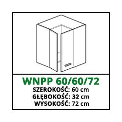 SZAFKA WISZĄCA - WNPP 60/60/72 - CUBA LIBRE