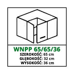 SZAFKA WISZĄCA - WNPP 65/65/36 - CUBA LIBRE