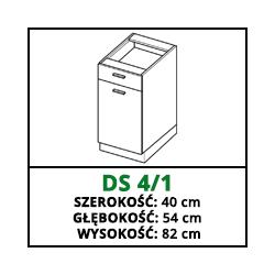 SZAFKA STOJĄCA - DS 4/1 - CAMPARI