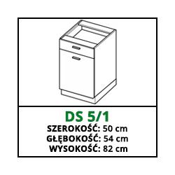 SZAFKA STOJĄCA - DS 5/1 - CAMPARI