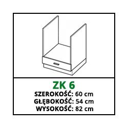 SZAFKA STOJĄCA - ZK 6 - CAMPARI
