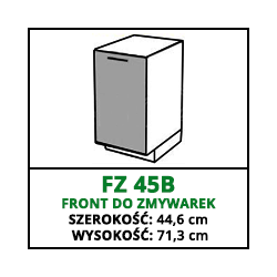 FRONT ZMYWARKI - FZ 45B - CAMPARI