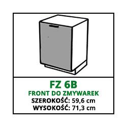 FRONT ZMYWARKI - FZ 6B - CAMPARI