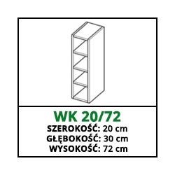 SZAFKA WISZĄCA - WK 20/72 - CAMPARI