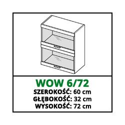 SZAFKA WISZĄCA - WOW 6/72 - CAMPARI