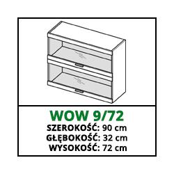 SZAFKA WISZĄCA - WOW 9/72 - CAMPARI