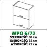 SZAFKA WISZĄCA - WPO 6/72 - CAMPARI