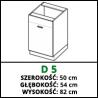 SZAFKA STOJĄCA - D 5 - VELLA