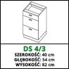 SZAFKA STOJĄCA - DS 4/3 - VELLA