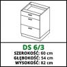 SZAFKA STOJĄCA - DS 6/3 - VELLA