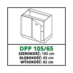 SZAFKA STOJĄCA - DPP 105/65 - VELLA
