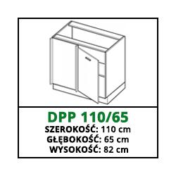 SZAFKA STOJĄCA - DPP 110/65 - VELLA