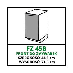 FRONT ZMYWARKI - FZ 45B - VELLA