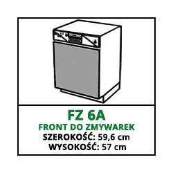 FRONT ZMYWARKI - FZ 6A - VELLA