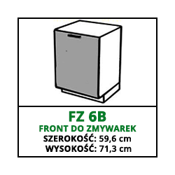 FRONT ZMYWARKI - FZ 6B - VELLA
