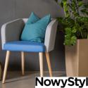 Fotele tapicerowane i krzesła